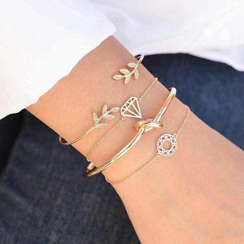 Jolis Bracelets à breloques (4pcs)