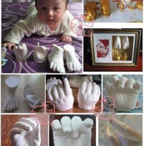 Moule 3D d'empreintes bébé
