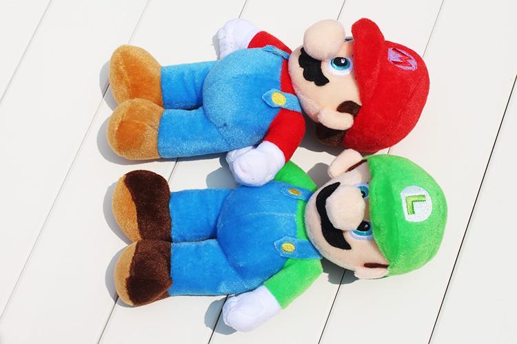 Cute peluche Mario & Lugi ( duo )