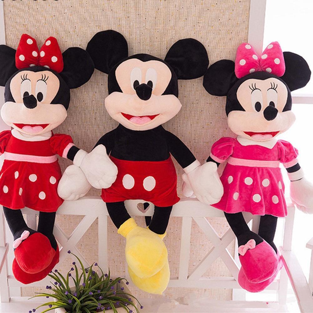 Peluches Micky & Minie