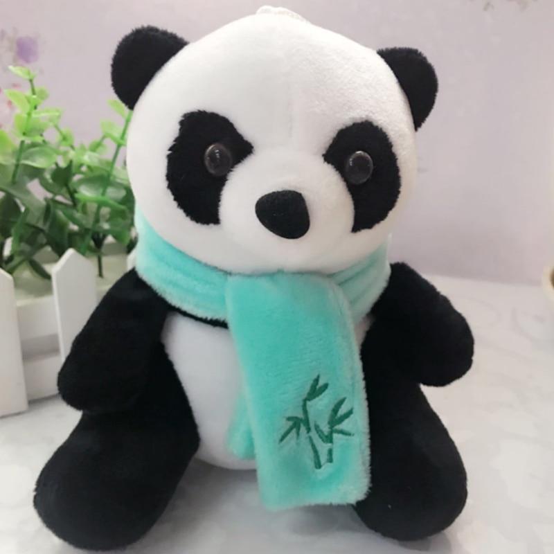 Peluche Panda avec écharpe