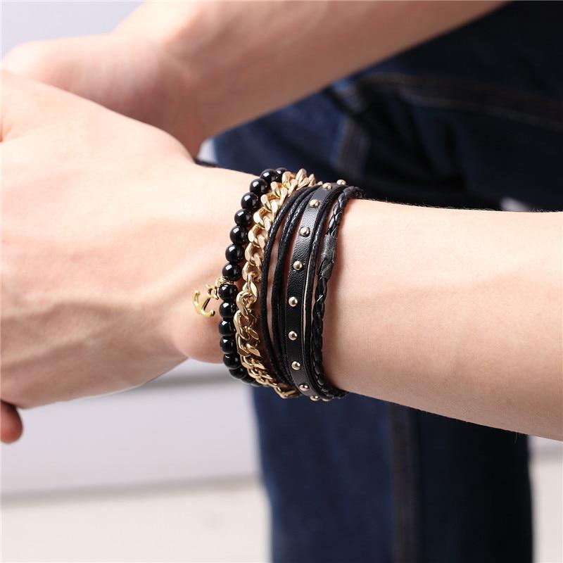 Bracelet Multi-couche Perlé