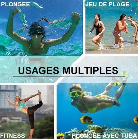 Chaussettes Aquatiques Antidérapantes