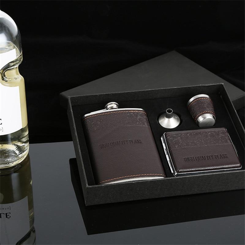 Ensemble Flasque à Alcool