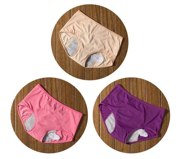 Culottes Menstruelles (3pcs)