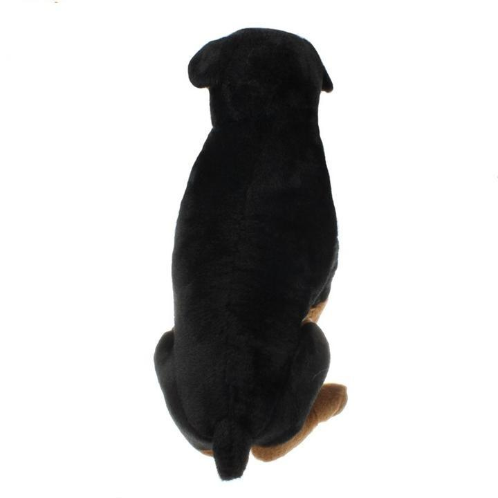 Peluche Chien rottweiler De 58 cm