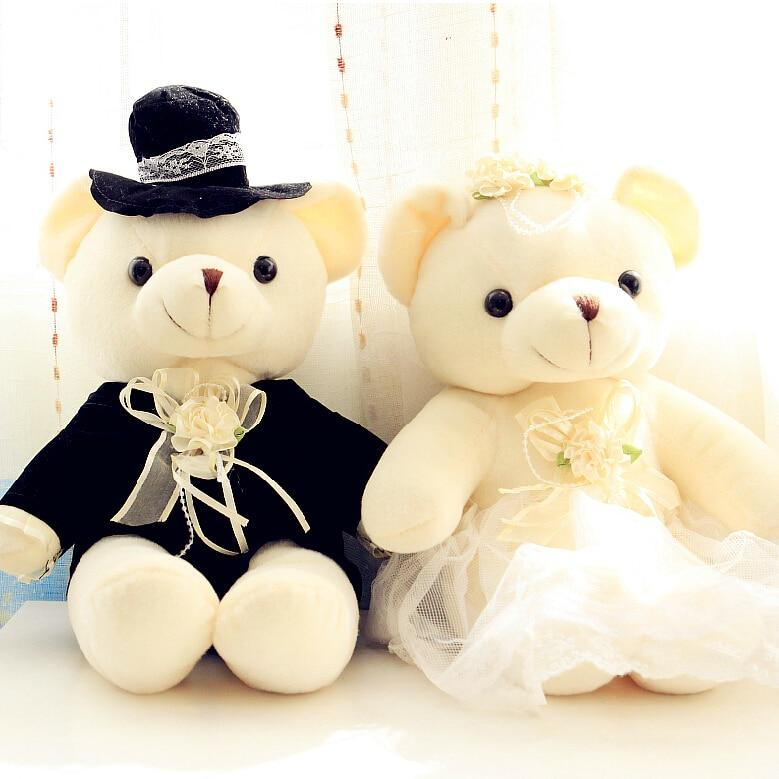 Couple d'Ours En Peluche