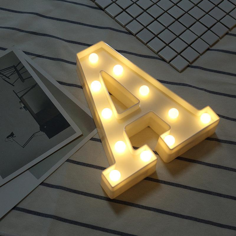 Veilleuse Alphabet 26 Lettres