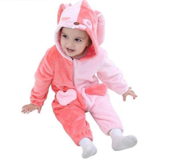 Pyjamas Bébé A Motif Animal