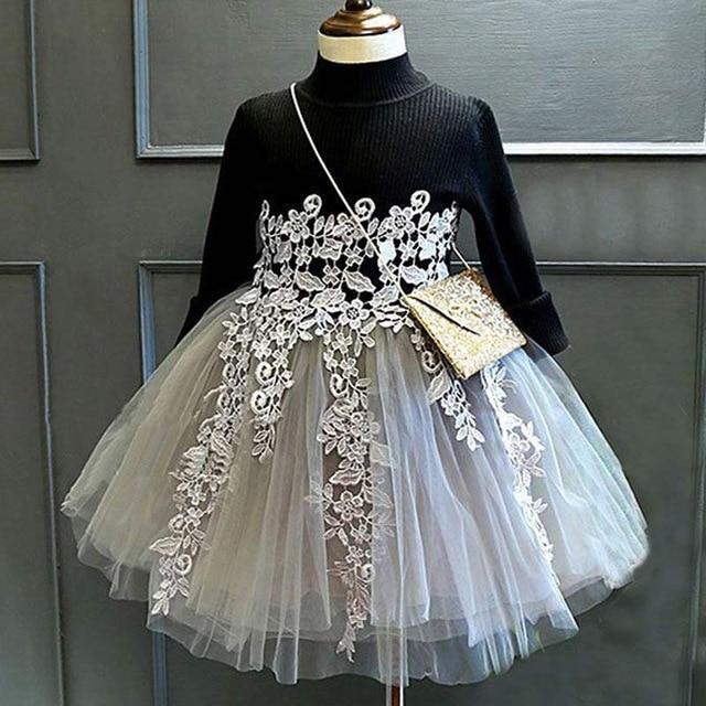 Robe Élégante Pour Petite Fille