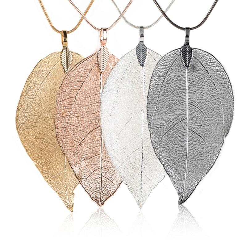 Charmant Pendentif Feuille