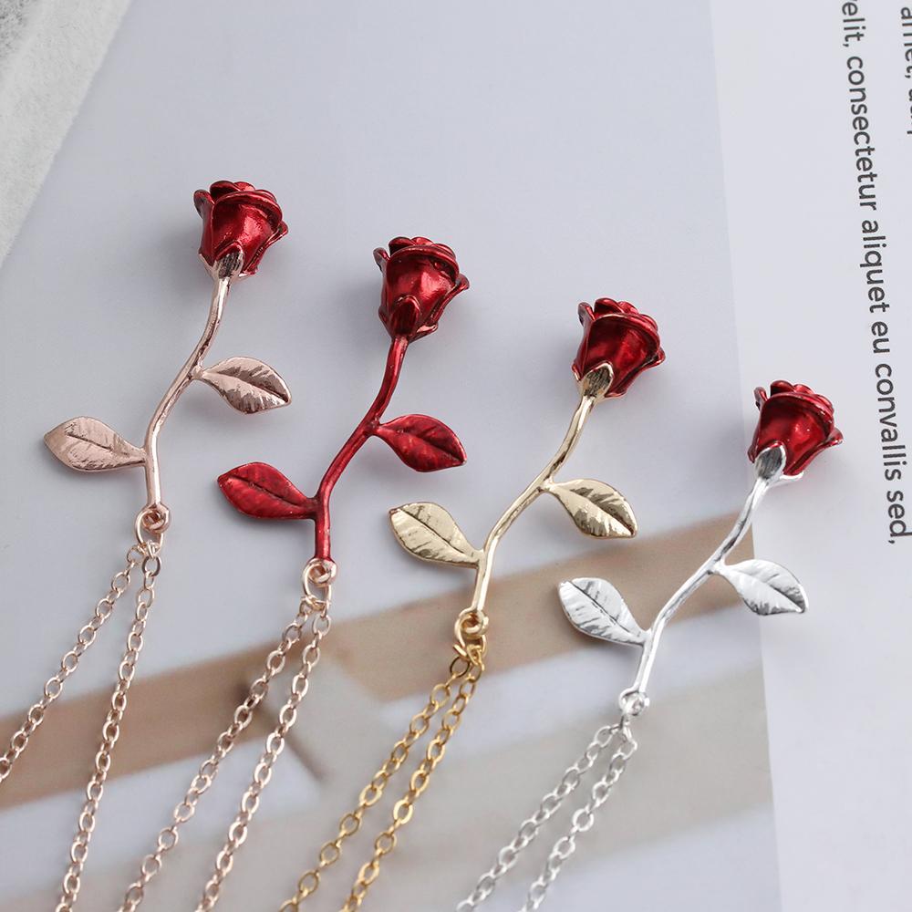 Collier Pendentif Rose
