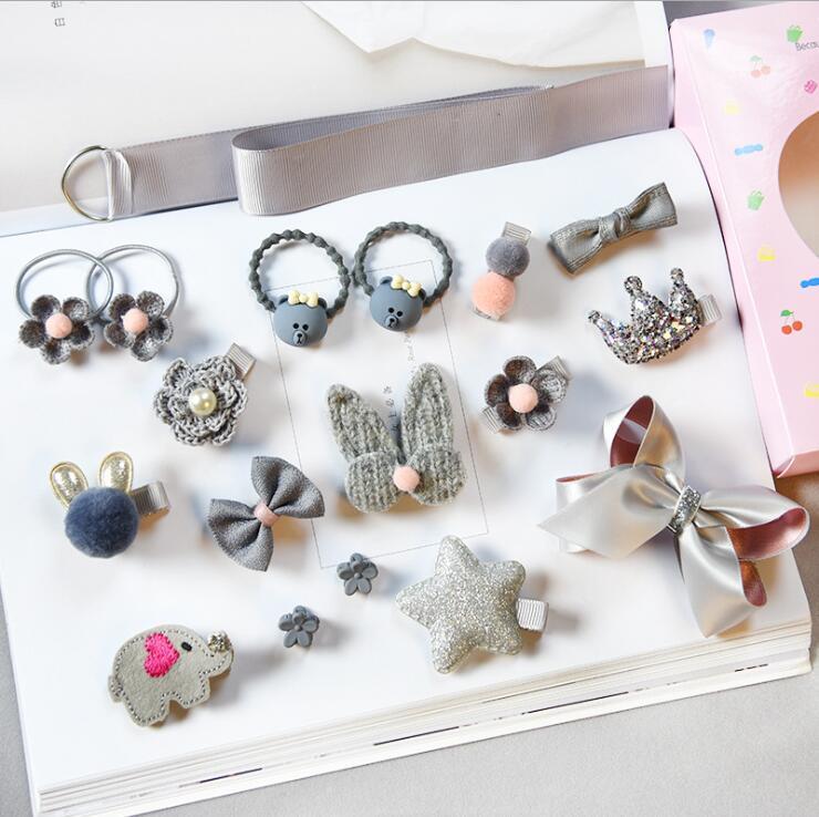 Accessoires Coiffure Pour Enfant (18 pcs)