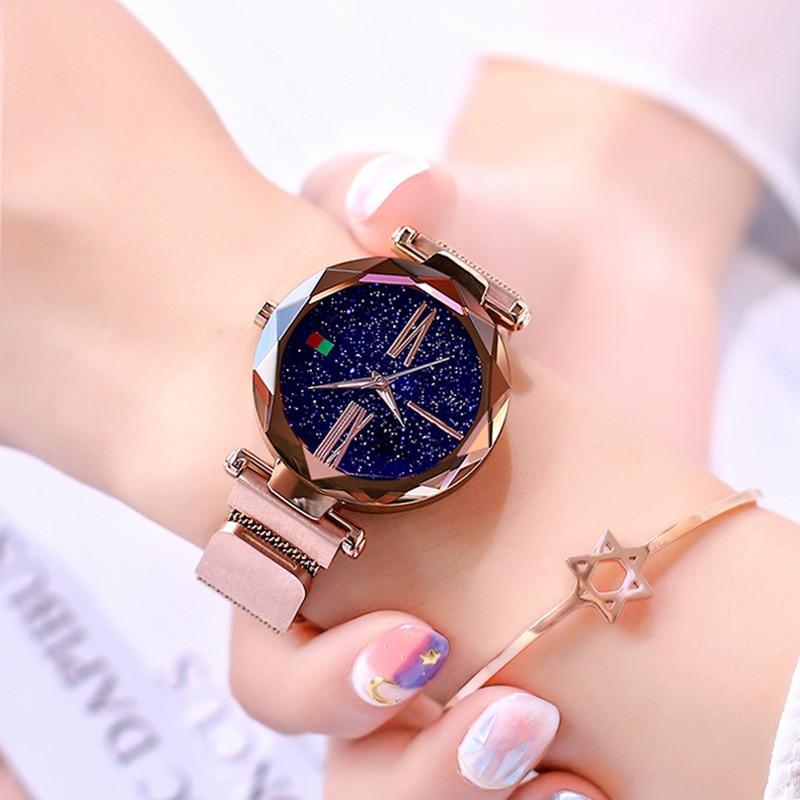 Montre Bracelet Magnétique