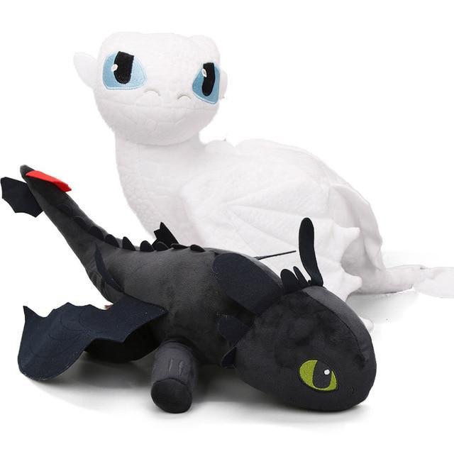 Peluche Dragon Furie éclair ( duo)