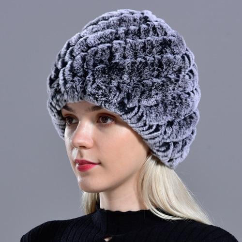 Bonnet En Fourrure Femme