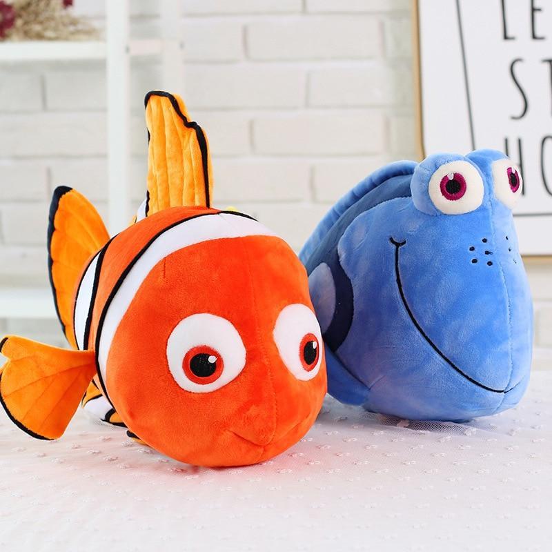 Peluche Nemo & Dory