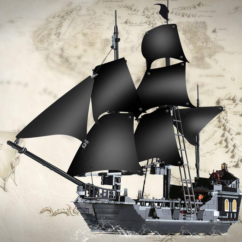 Bateau Pirates Black Pearl