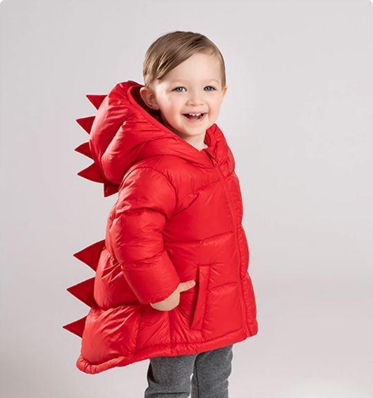 Doudoune Dinosaure Pour Enfant