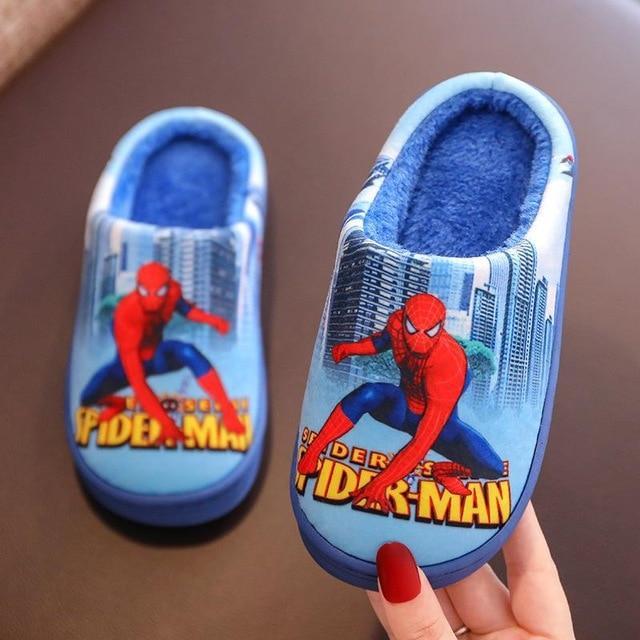 Pantoufles Spiderman Pour Enfant