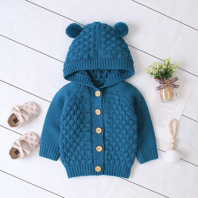 Manteau En Tricot Pour Bébé