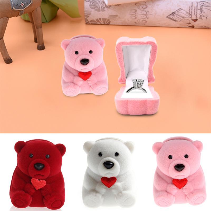 Boîte A Bijoux En Forme D'ours