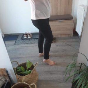 Legging De Maternité En Coton