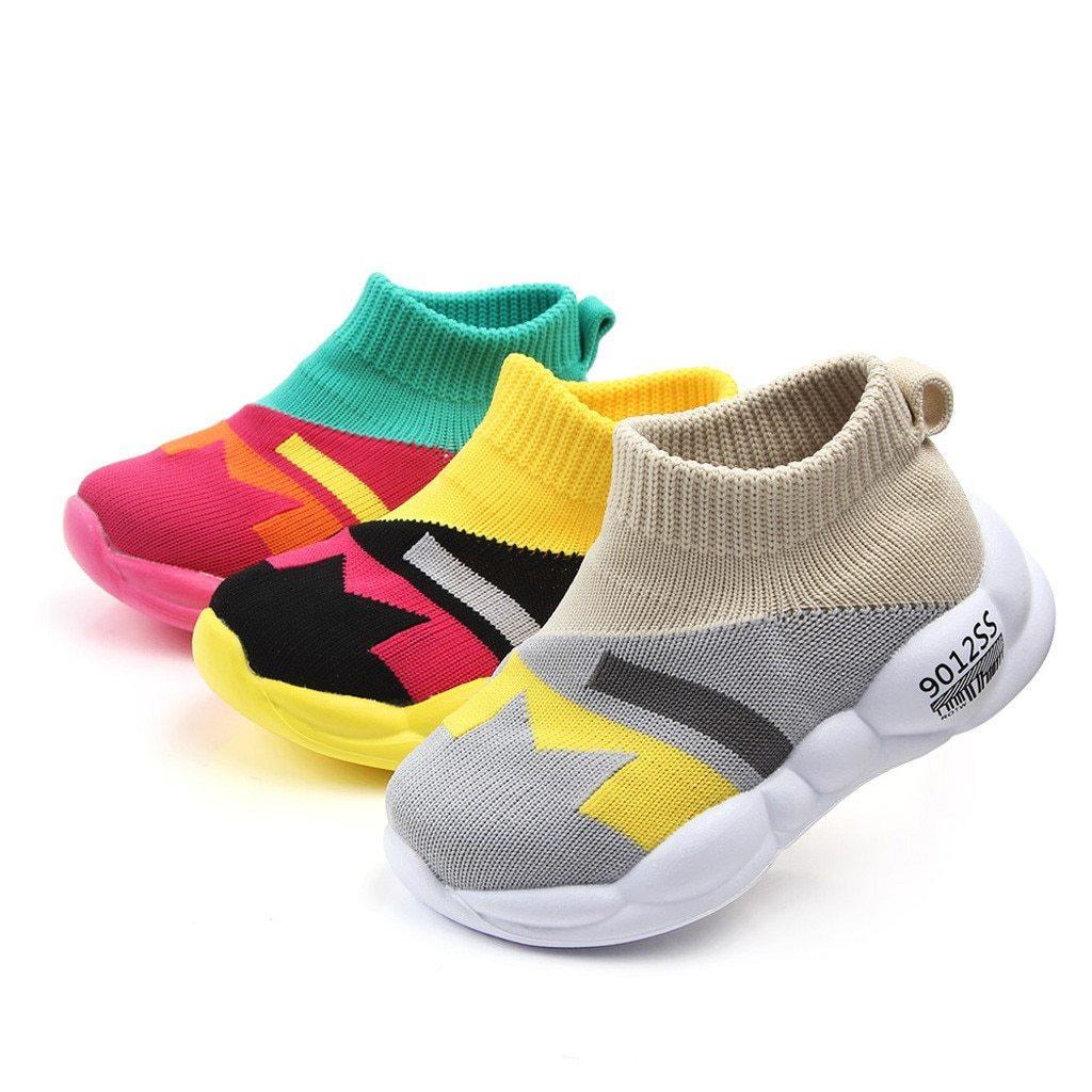 Sneakers A Motifs Pour Enfant