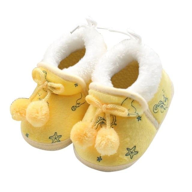 Chaussons Avec Nœud Pour Bébé