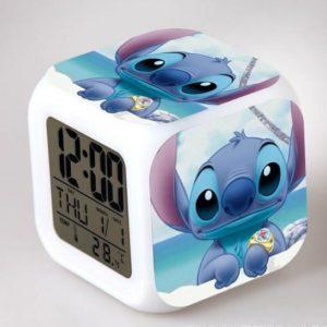 Cute Réveil Lilo & Stitch LED