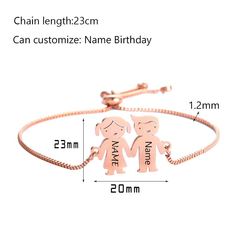 Bracelet Garçon Fille Personnalisable