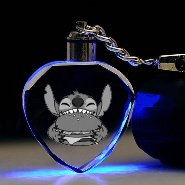Porte-clés Stitch Lumineux
