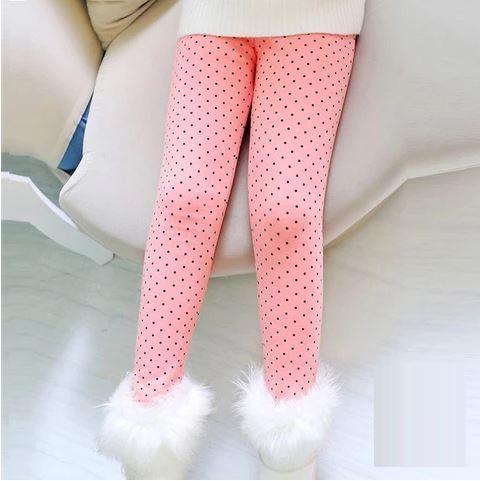 Legging A Pois Pour Enfant