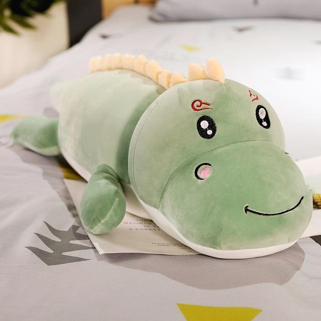 Coussin Crocodile En Peluche
