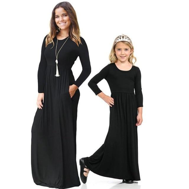 Robe Longue Mère fille