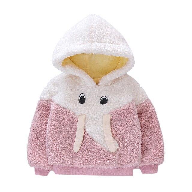 Veste Polaire Éléphant Pour Enfant