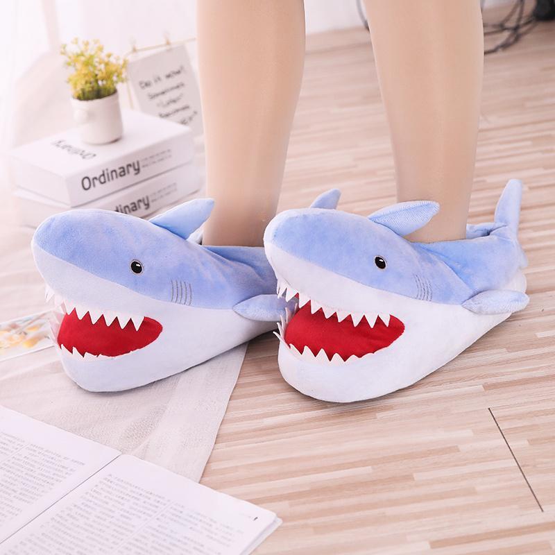 Cute Pantoufles Requin