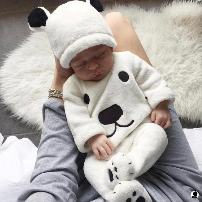Trois Pièces polaire Pour Bébé