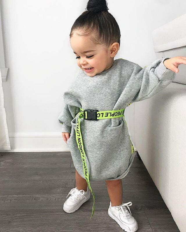 Robe Pull Pour Fille