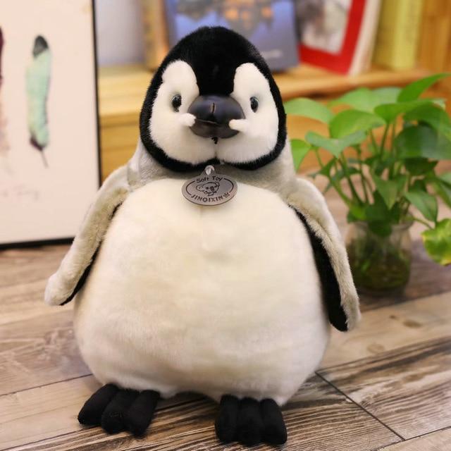 Mignon Pingouin En Peluche