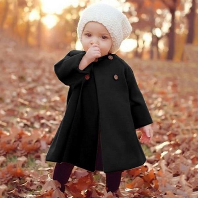 Manteau En Laine Pour Filles