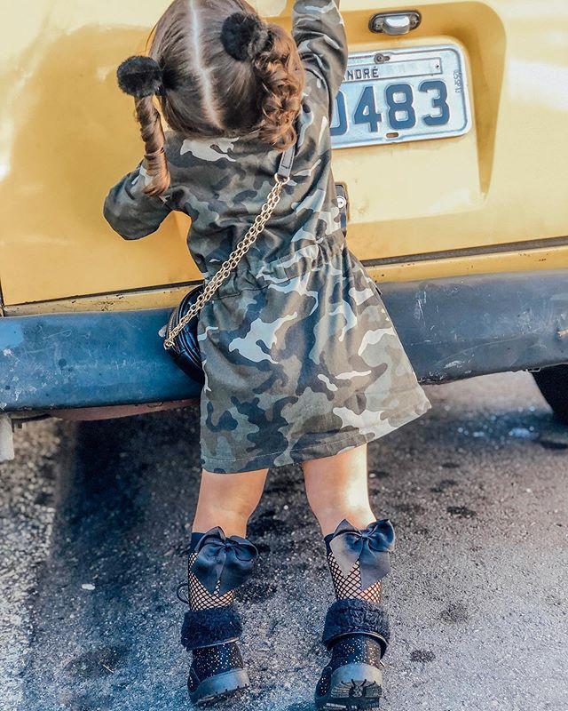 Veste Militaire Pour Fille