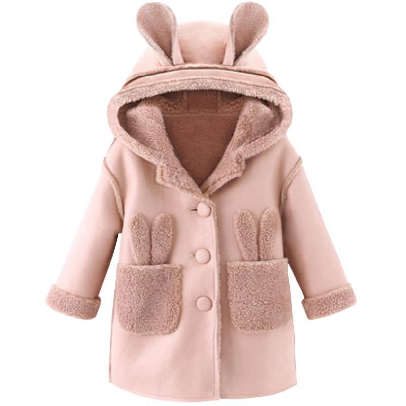 Magnifique Manteau Lapin Pour Fille